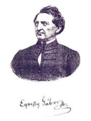 Egressy Gábort ábrázoló kép
